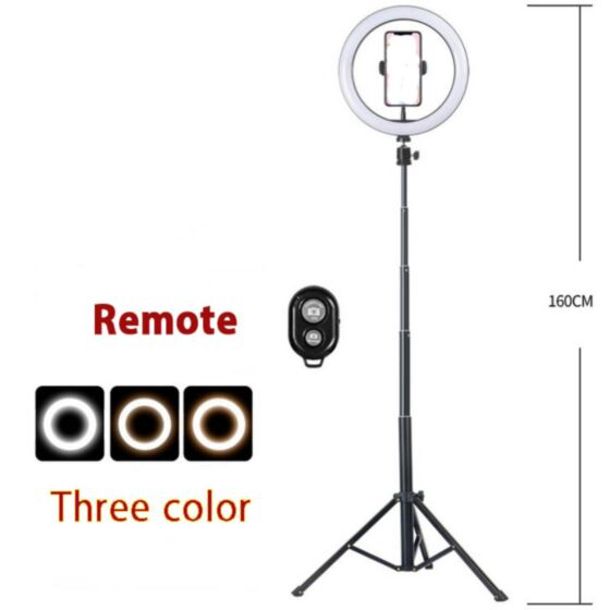 PHOTOGRAPHY MOBILE FLOOR STAND HOLDER WITH LIGHT C-179