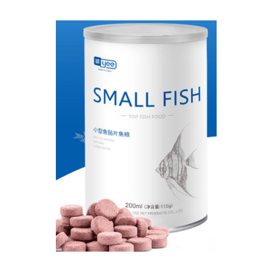 اقراص لاصقة طعام اسماك الزينة الغني بالبروتينات